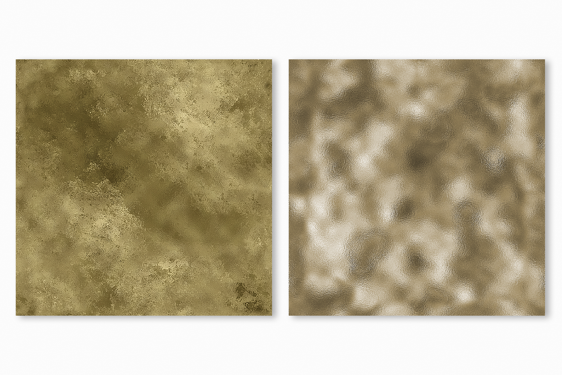 Pale Gold Foil Textures - 10 Seamless Digital Papers example image 11