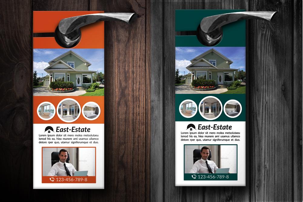 Real Estate Agency Door Hangers example image 2