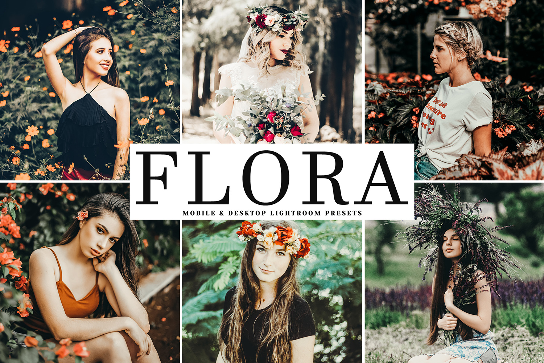 Flora Mobile & Desktop Lightroom Presets example image 1