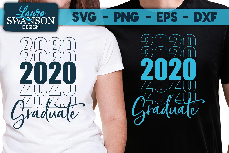Graduate Bundle - 2020 - SVG, PNG, EPS, DXF example image 4