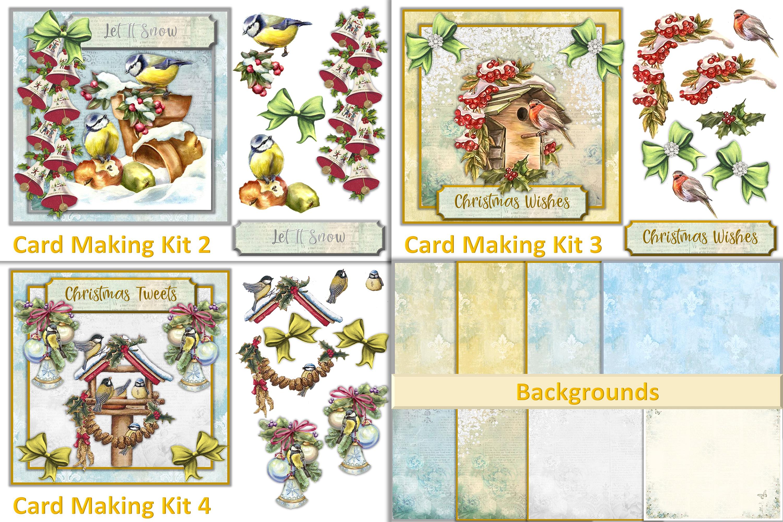 Mega Christmas Craft Bundle COmmercial Use example image 3