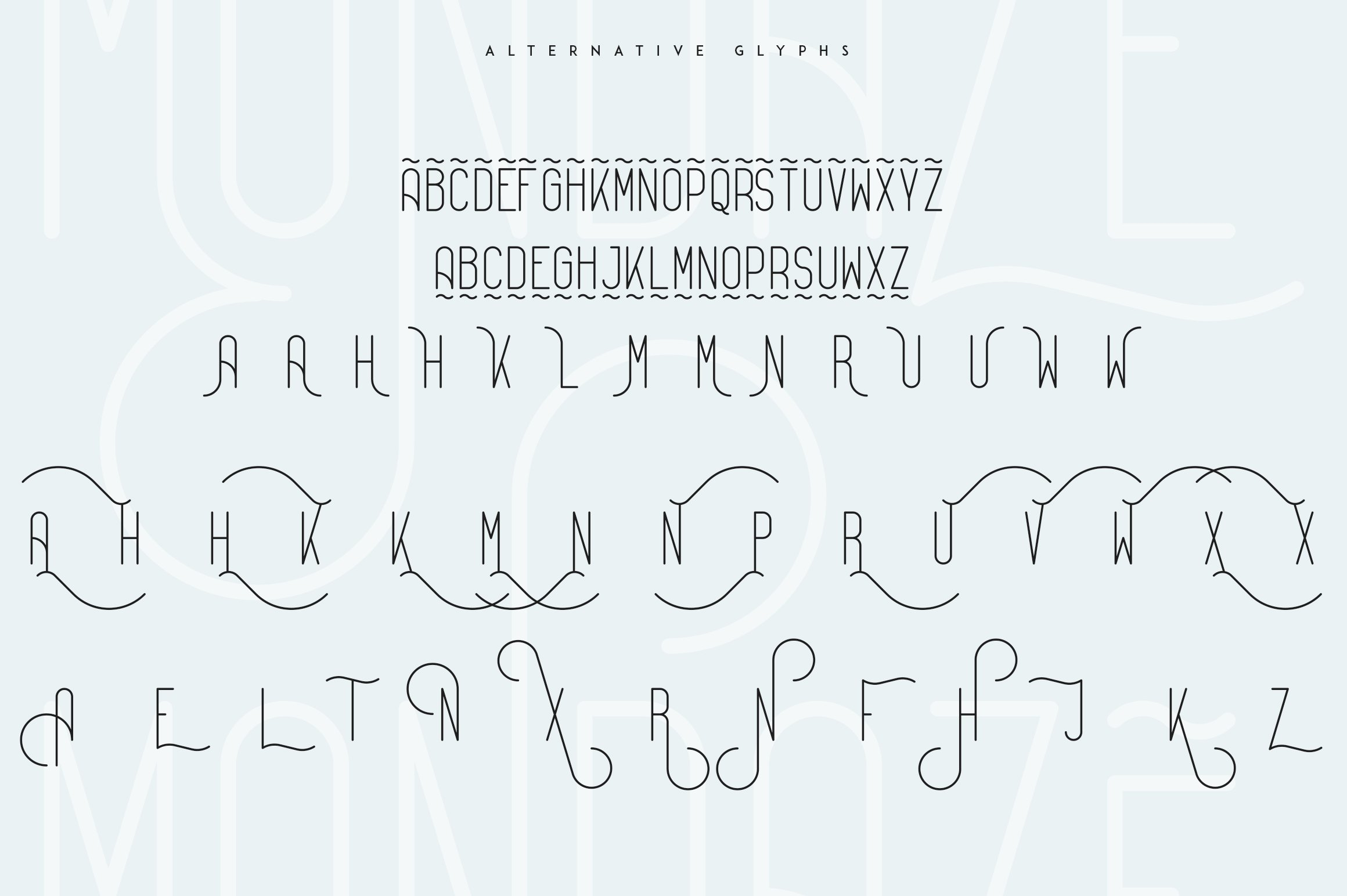 Bestseller font collection 6 typefaces in 1 example image 26