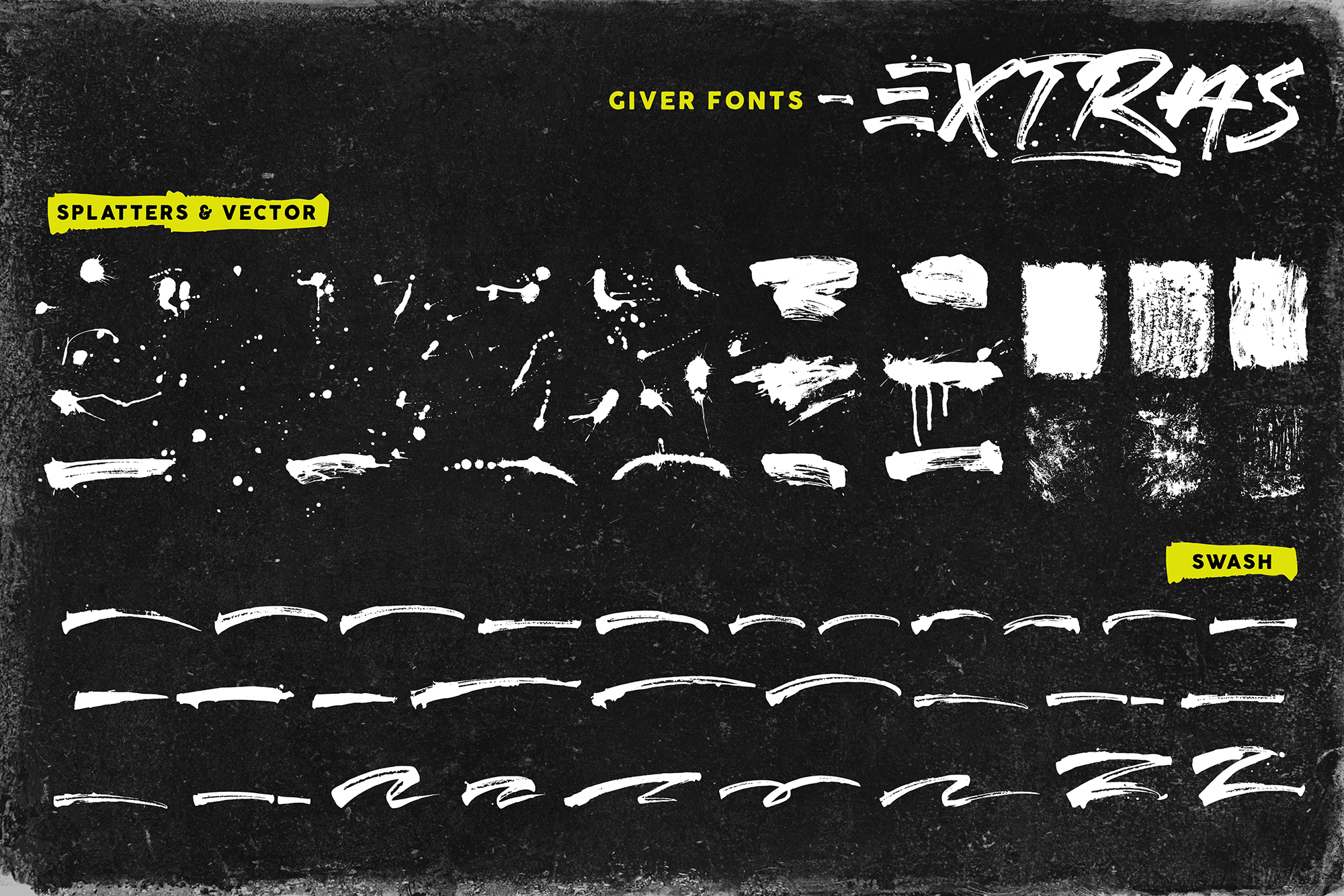 Giver Font & Extras example image 8