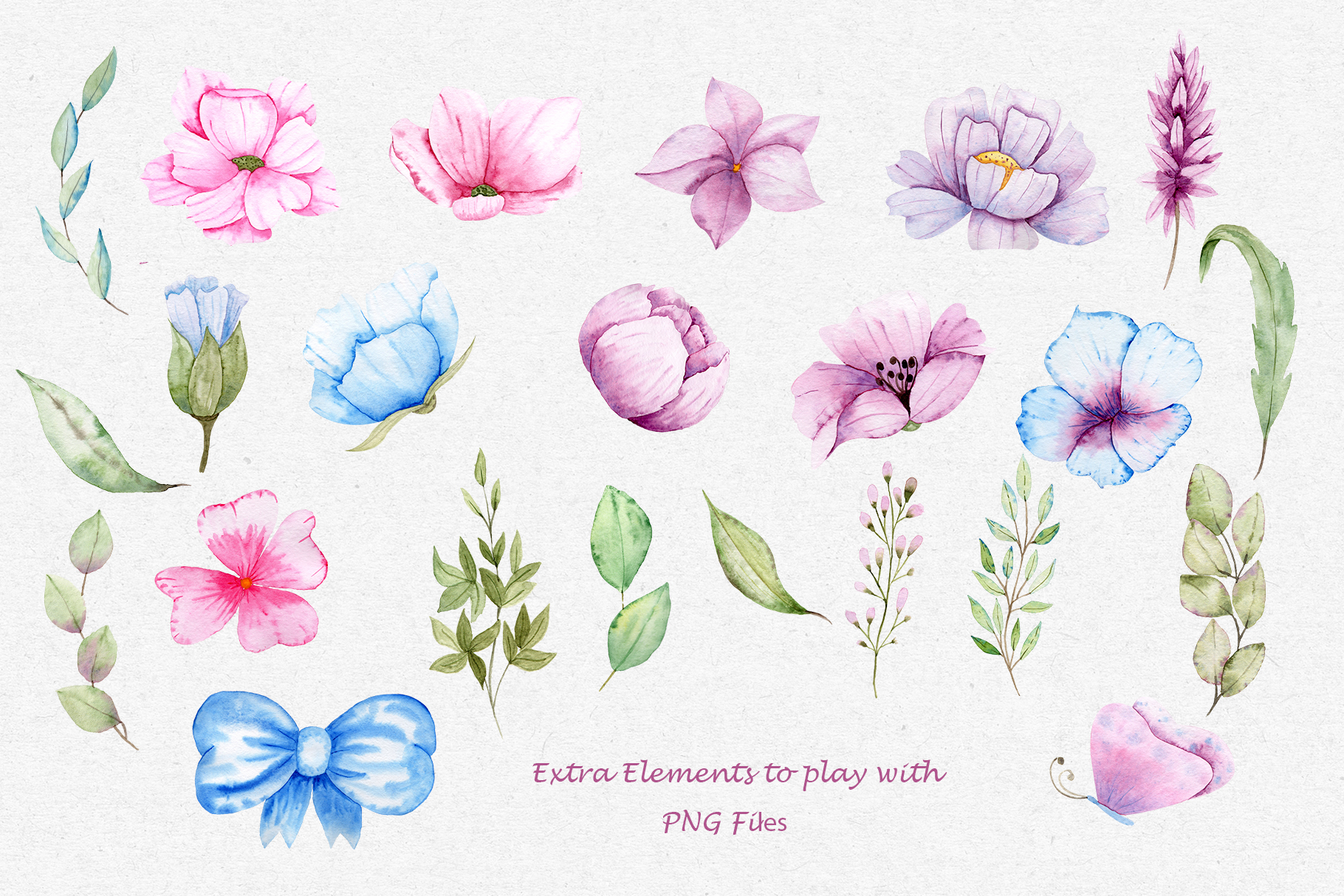 Watercolor Friends Collection example image 5