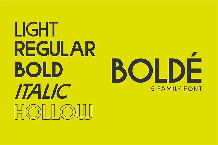 Bolde example image 2