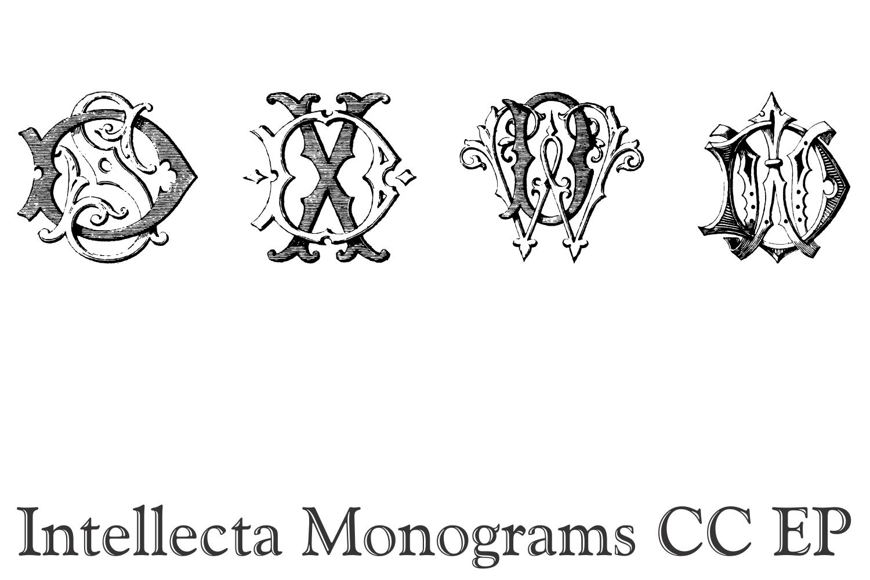 Intellecta Monograms CC EP example image 7