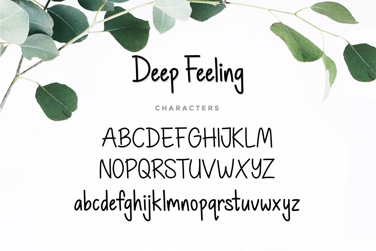 Deep Feeling example image 3