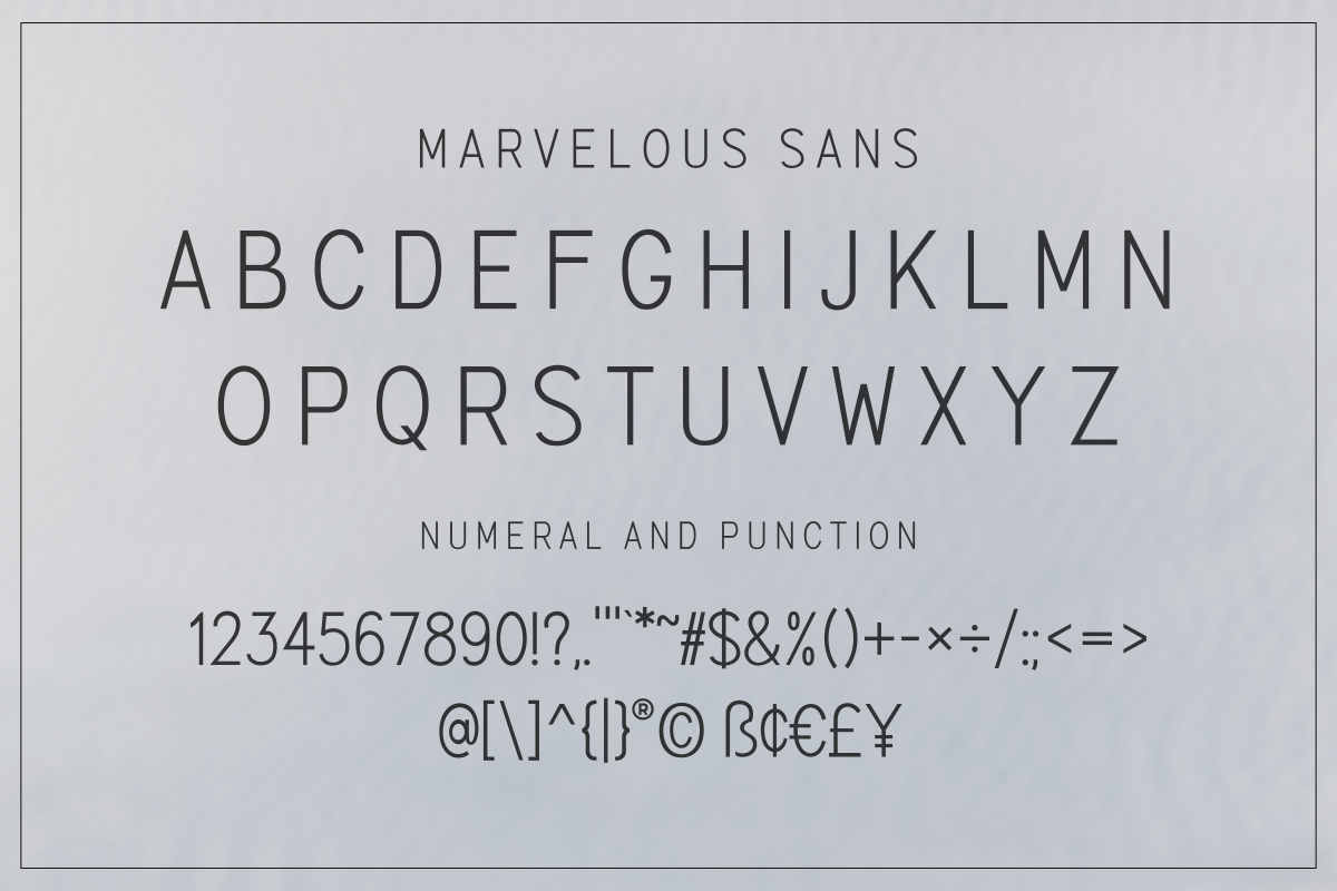 The Marvelous Font Duo example image 14