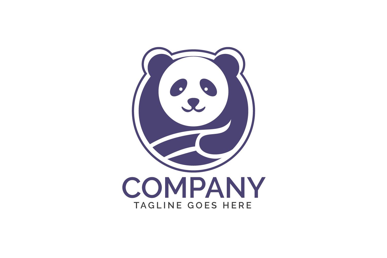 Panda logo design. example image 1