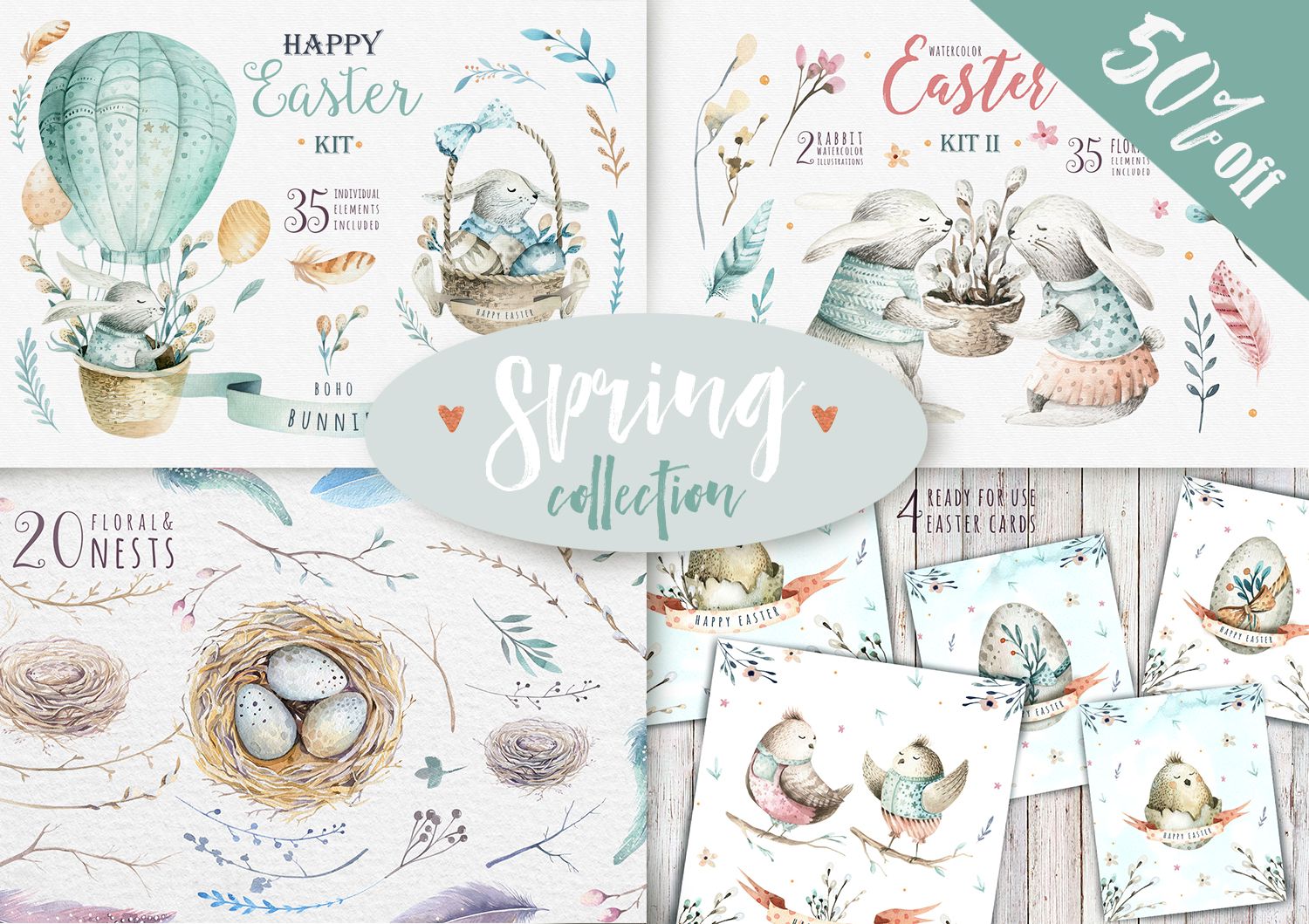 50% Spring &Easter collection example image 1