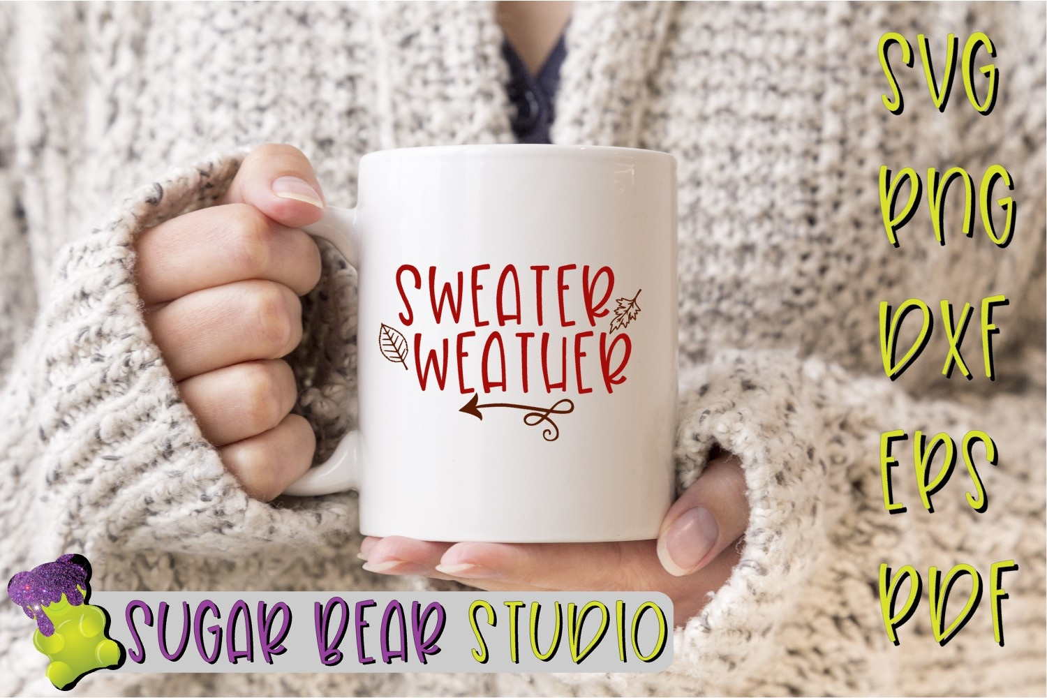 Sweater Weather SVG example image 2