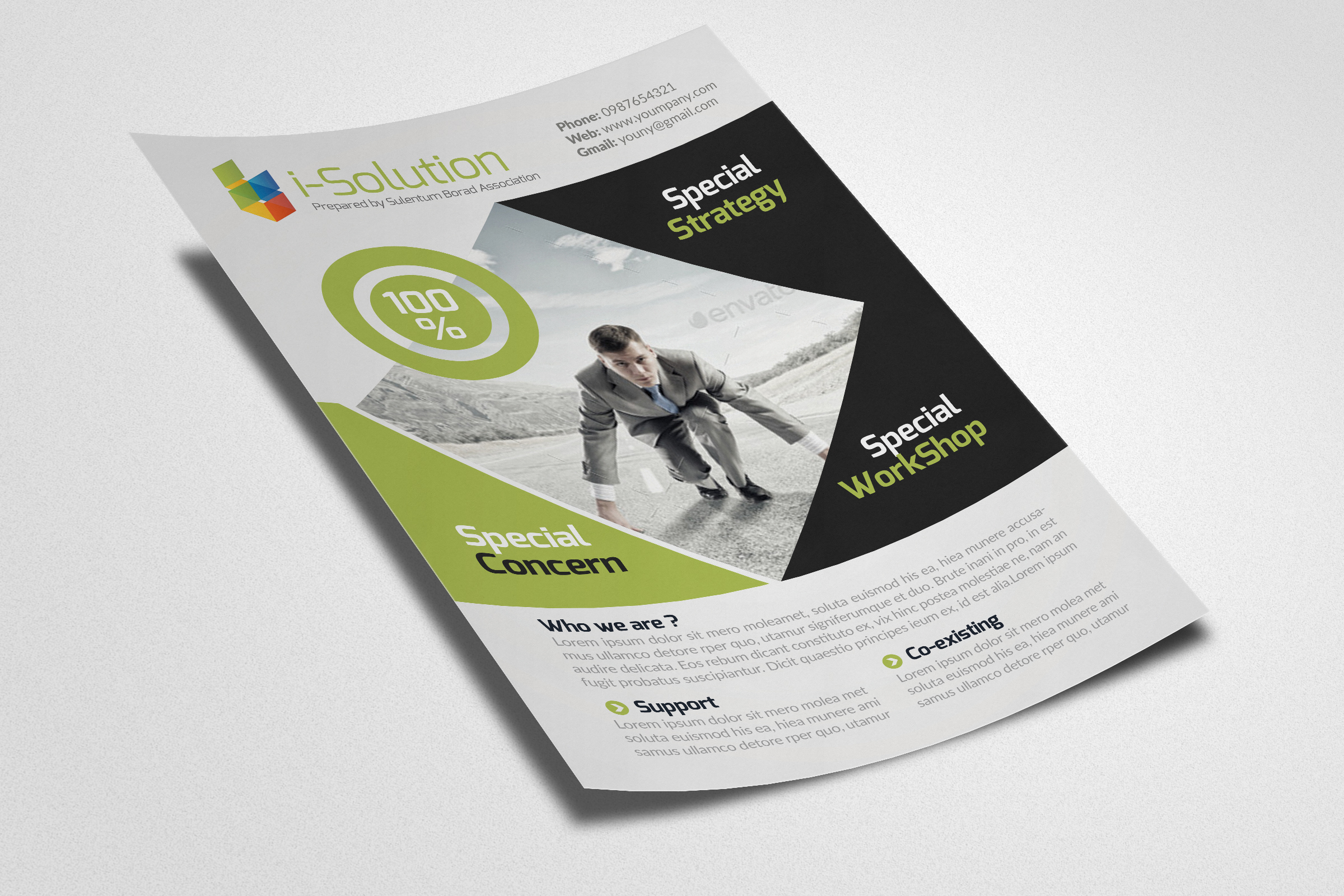 Creative Business Flyers example image 2