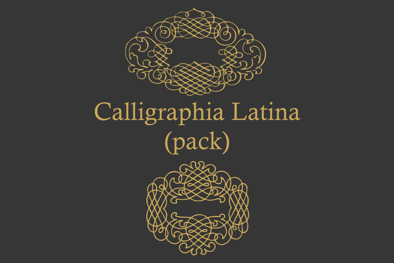 Calligraphia Latina Pack example image 4