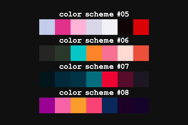 Cyberpunk - Adobe Photoshop Swatches example image 3
