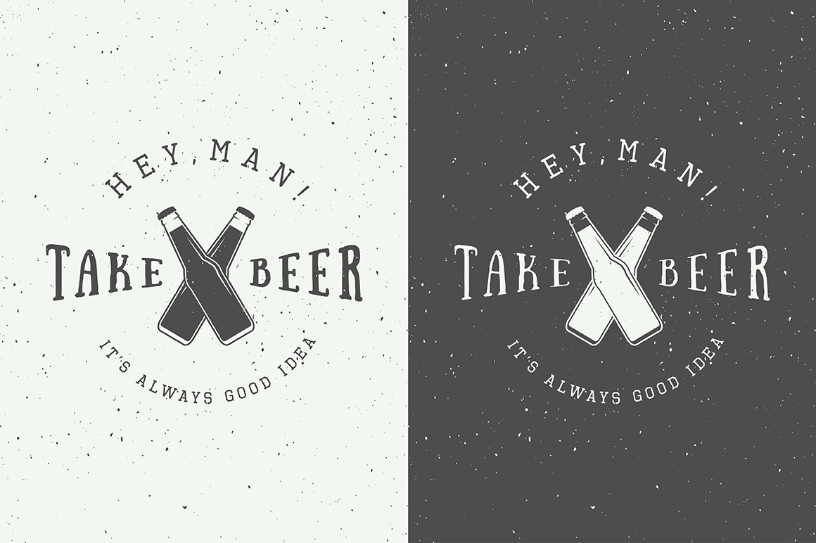 Beer Emblems Bundle example image 2