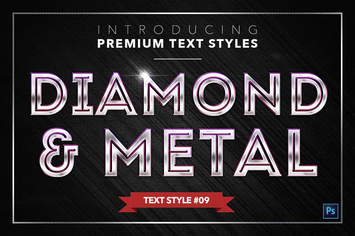Diamond & Metal #2 - 16 Text Styles example image 10