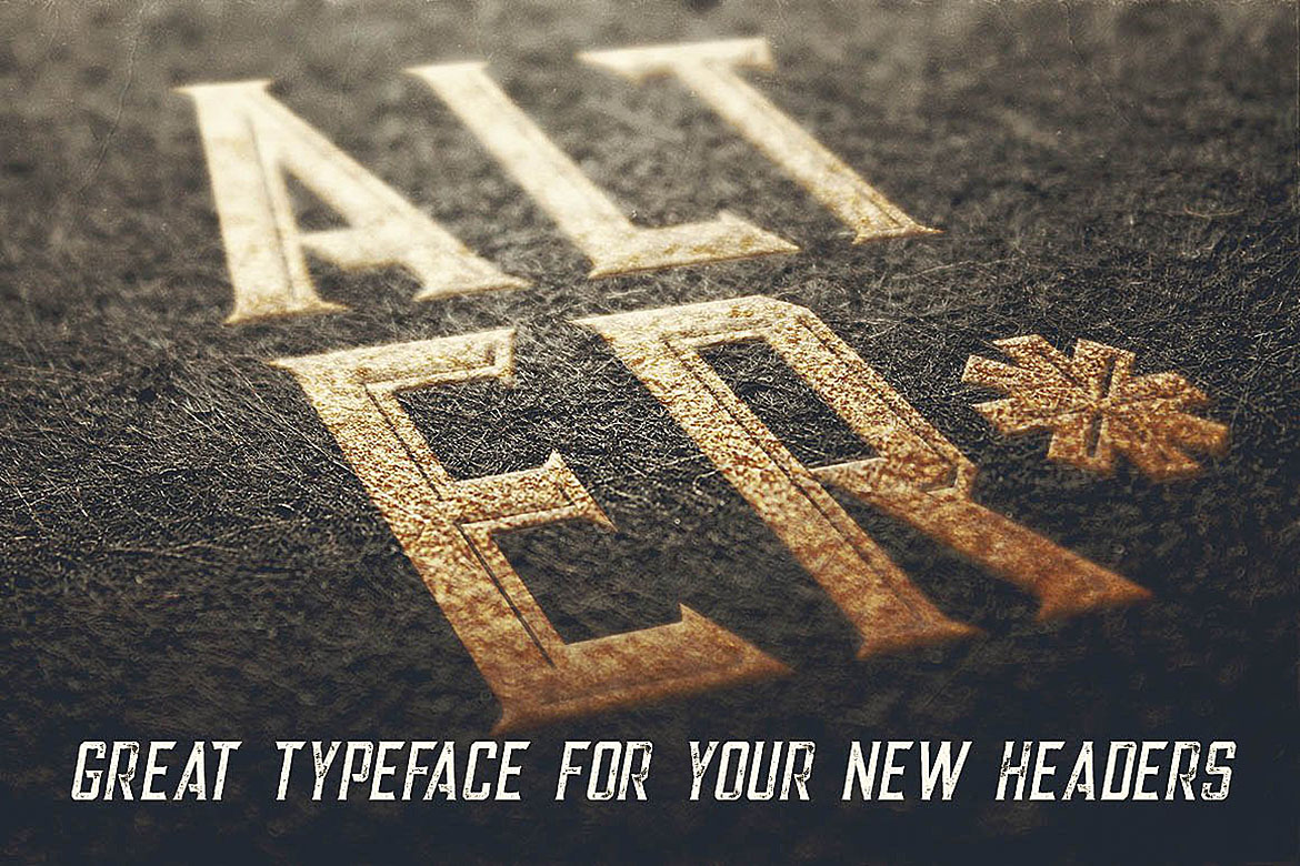 Alter - Vintage Style Font example image 3