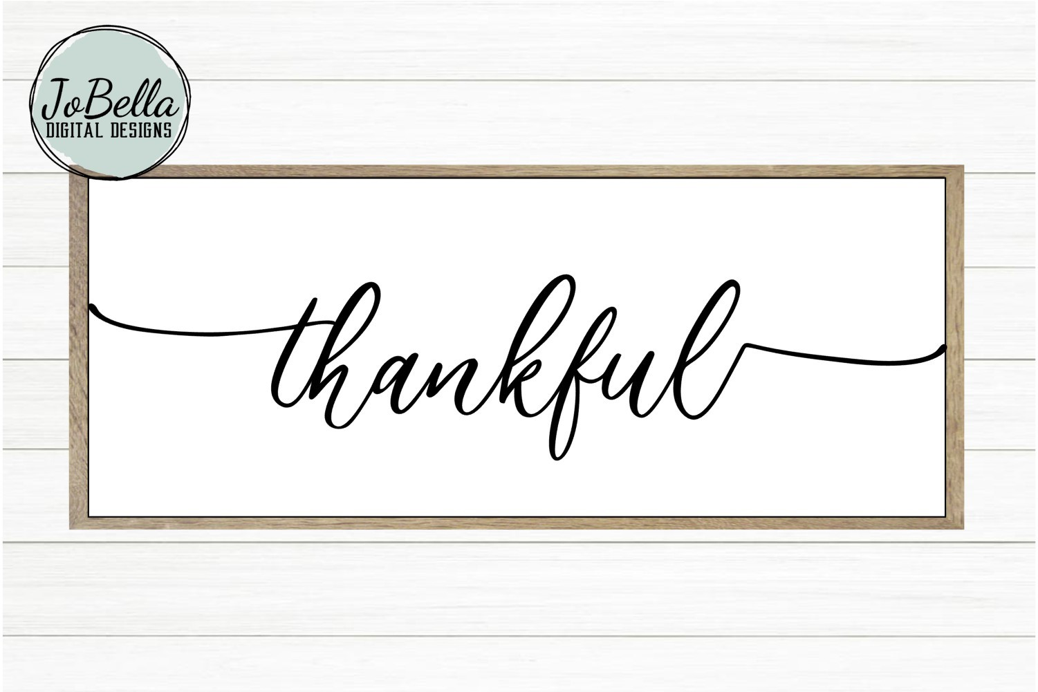 photo regarding Thankful Printable named Grateful SVG and Printable Farmhouse Style and design