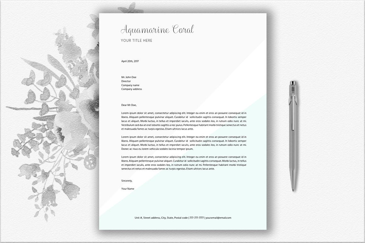 Letterhead Design Template example image 2