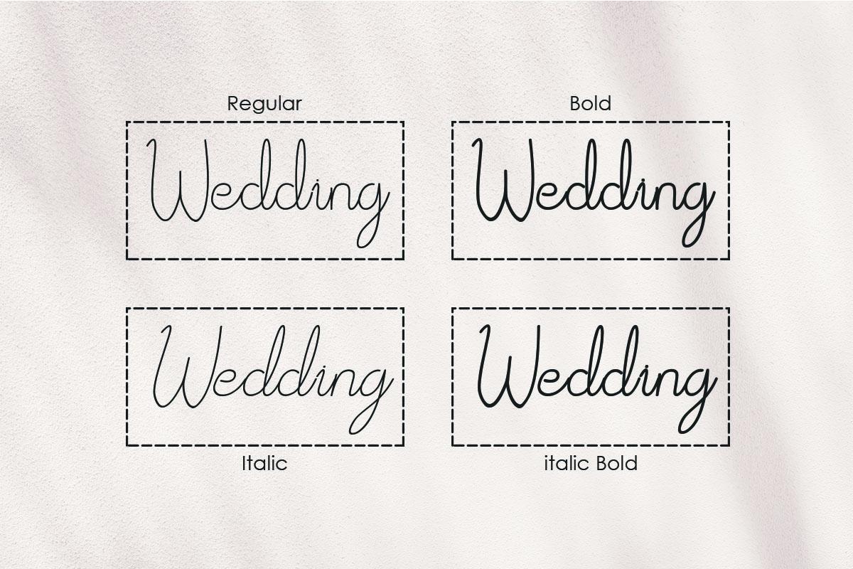 Afrida monoline script font example image 4