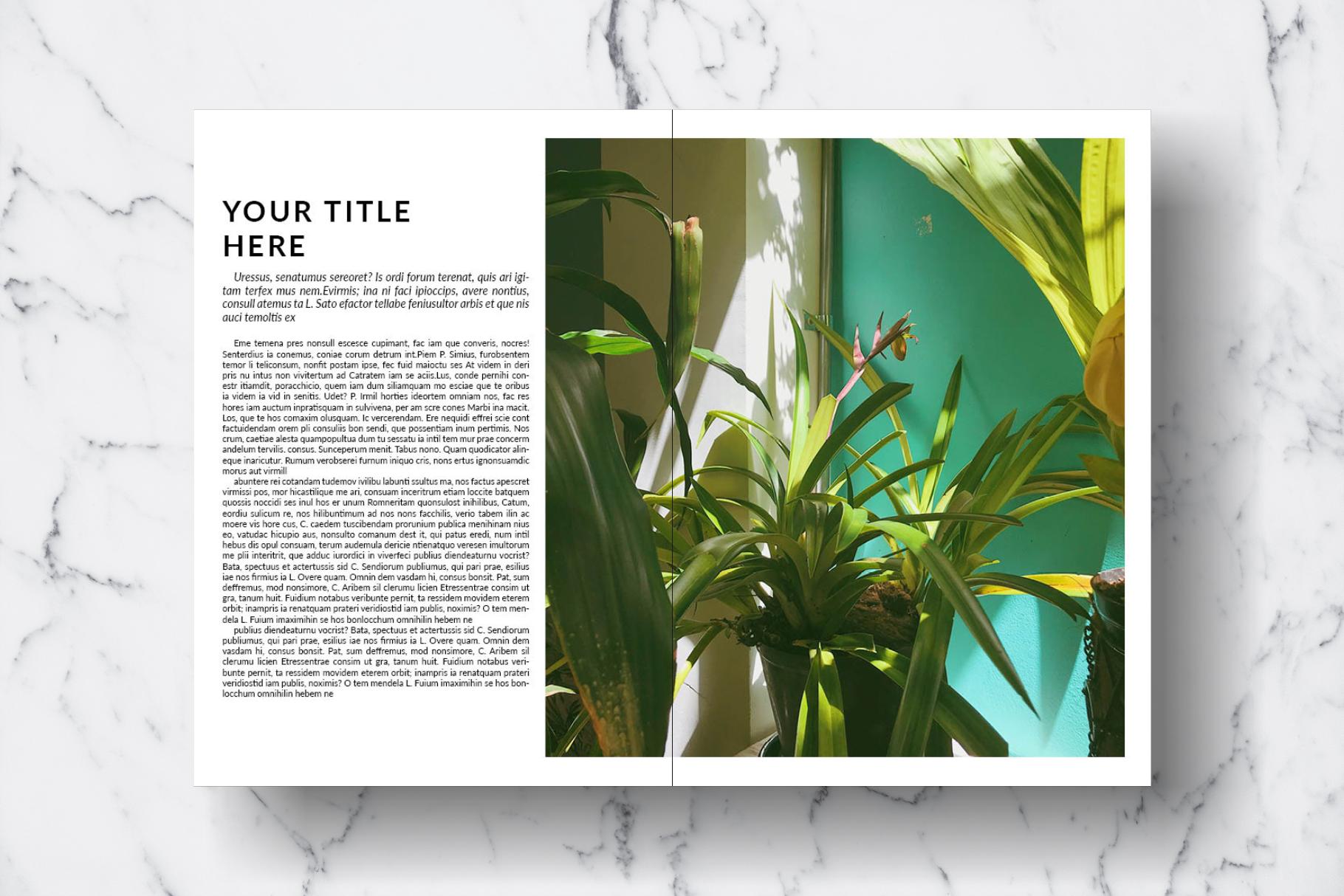 Magazine Template Vol. 15 example image 12