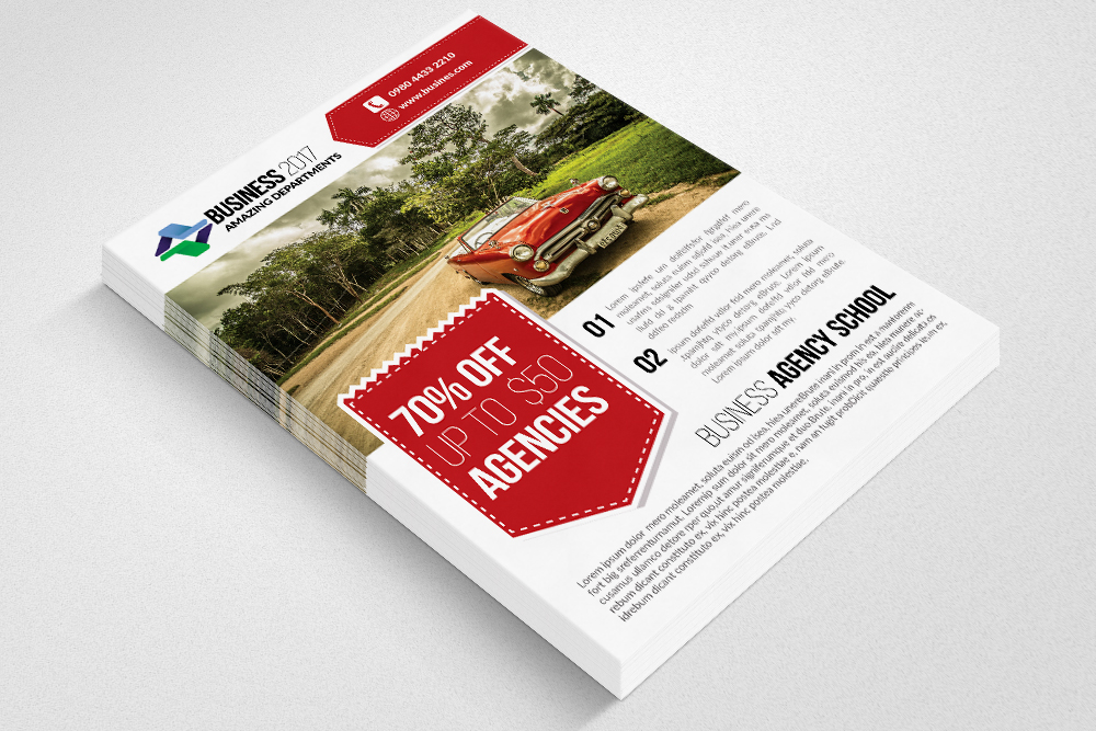 Landscaper Flyer Templates example image 2