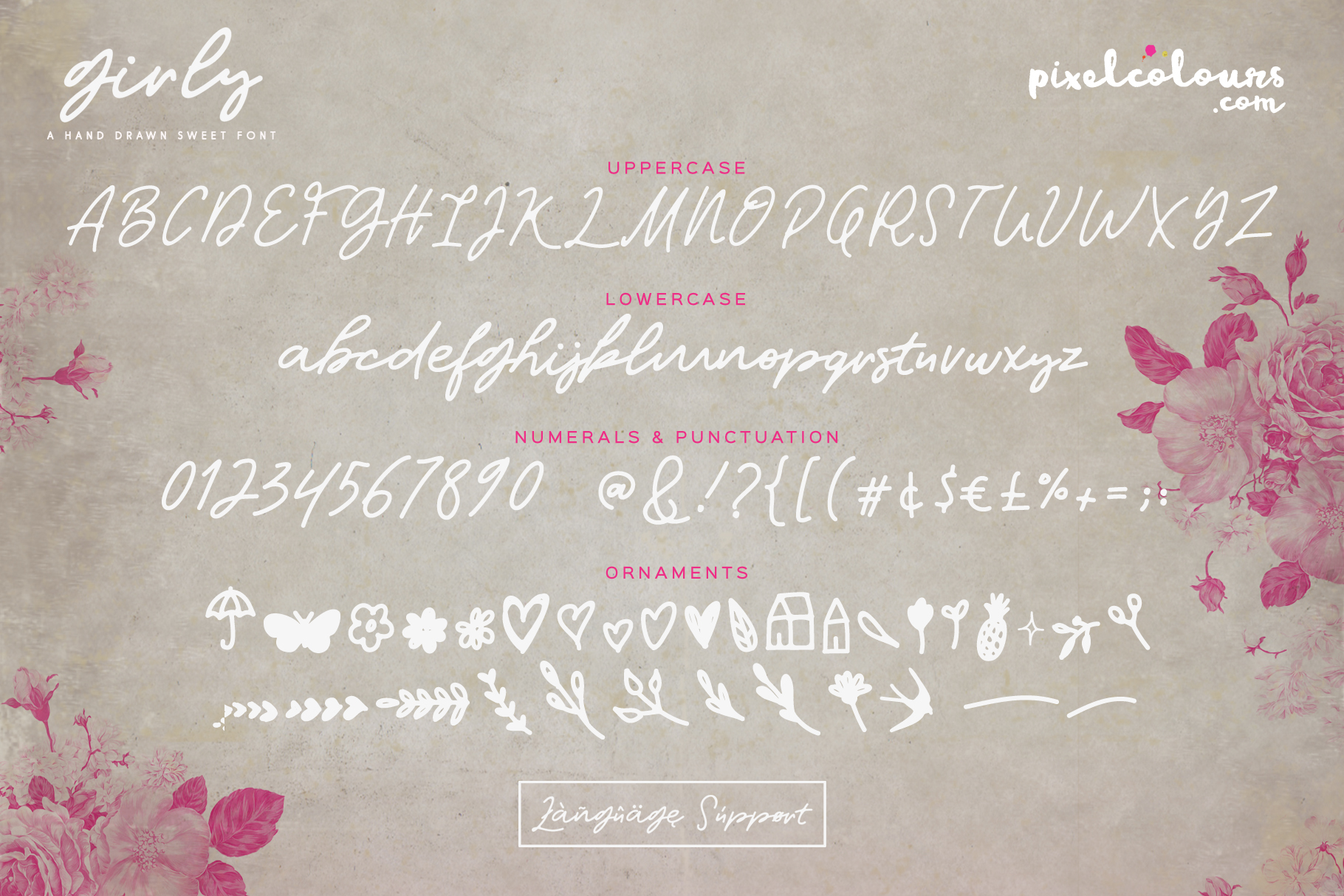 Girly Script Font example image 6