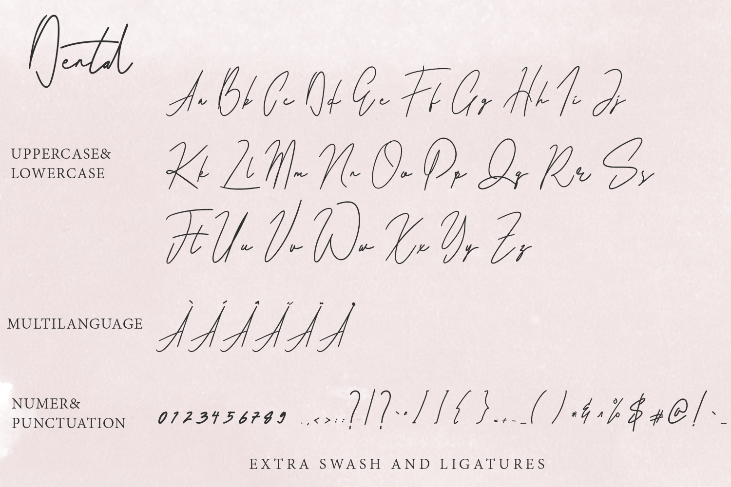 Dental Signatures Font example image 9