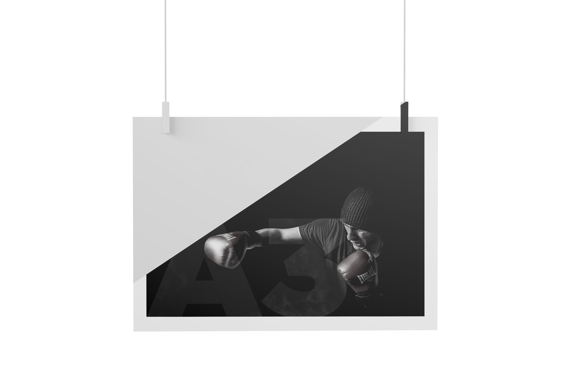 Matte A3 Poster Mockup example image 4