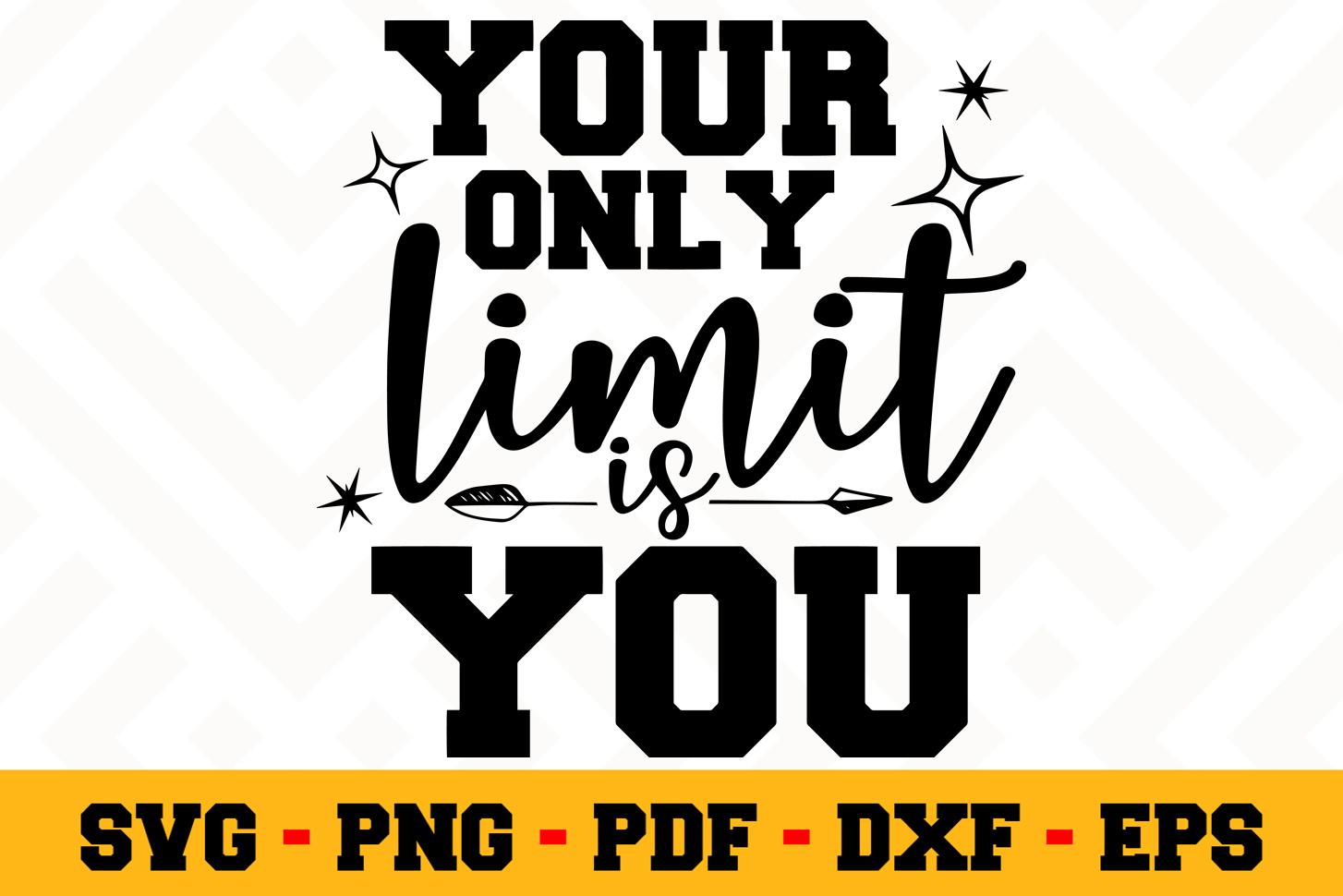 Motivation SVG Design n503 | Motivational Quote SVG File example image 1