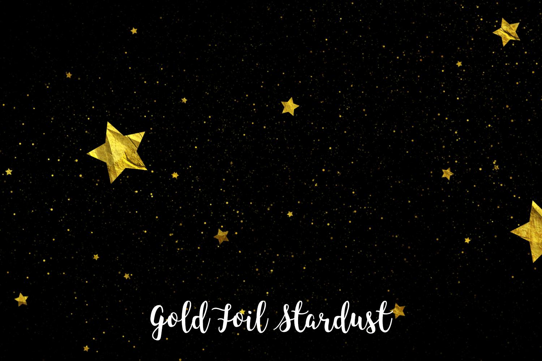 Gold Foil Stardust, Transparent PNG example image 2