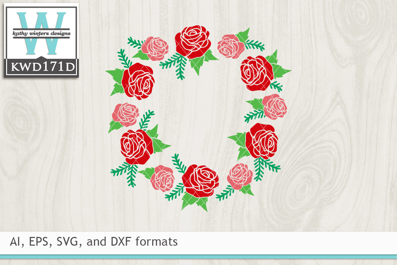Valentines Svg Floral Wreath 51844 Cut Files Design Bundles