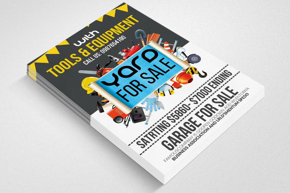 Garage & YadSale Flyer example image 2