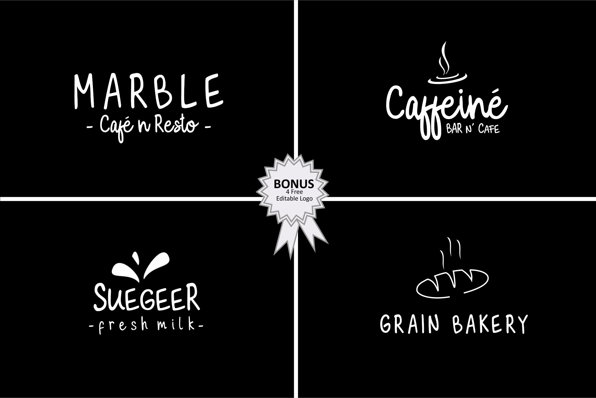 Milky Cookies Typeface example image 8