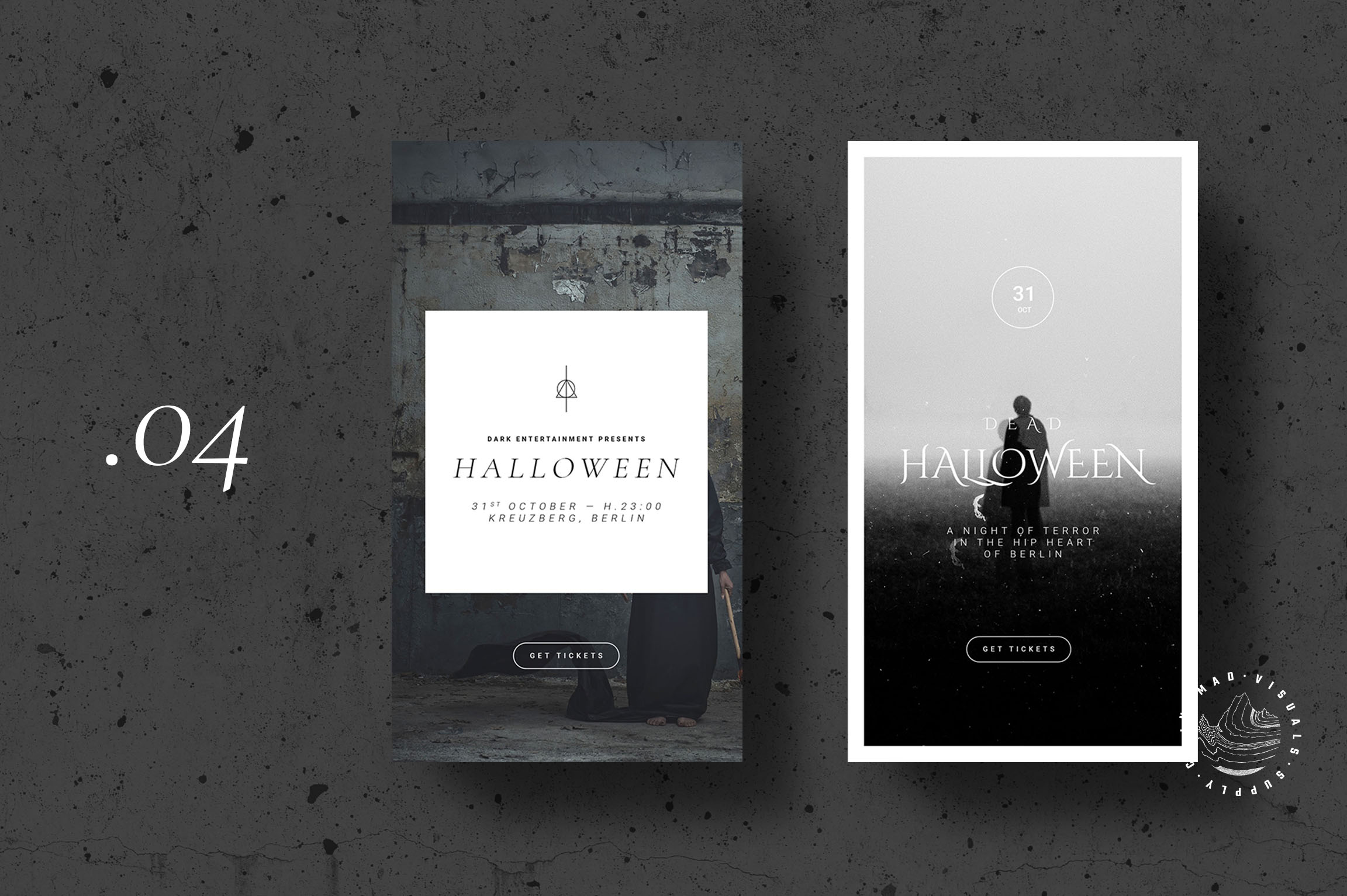 Halloween Animated Instagram Stories Templates - Event Promo example image 6