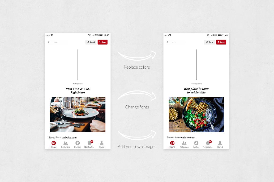 Restaurant Pinterest Posts example image 5