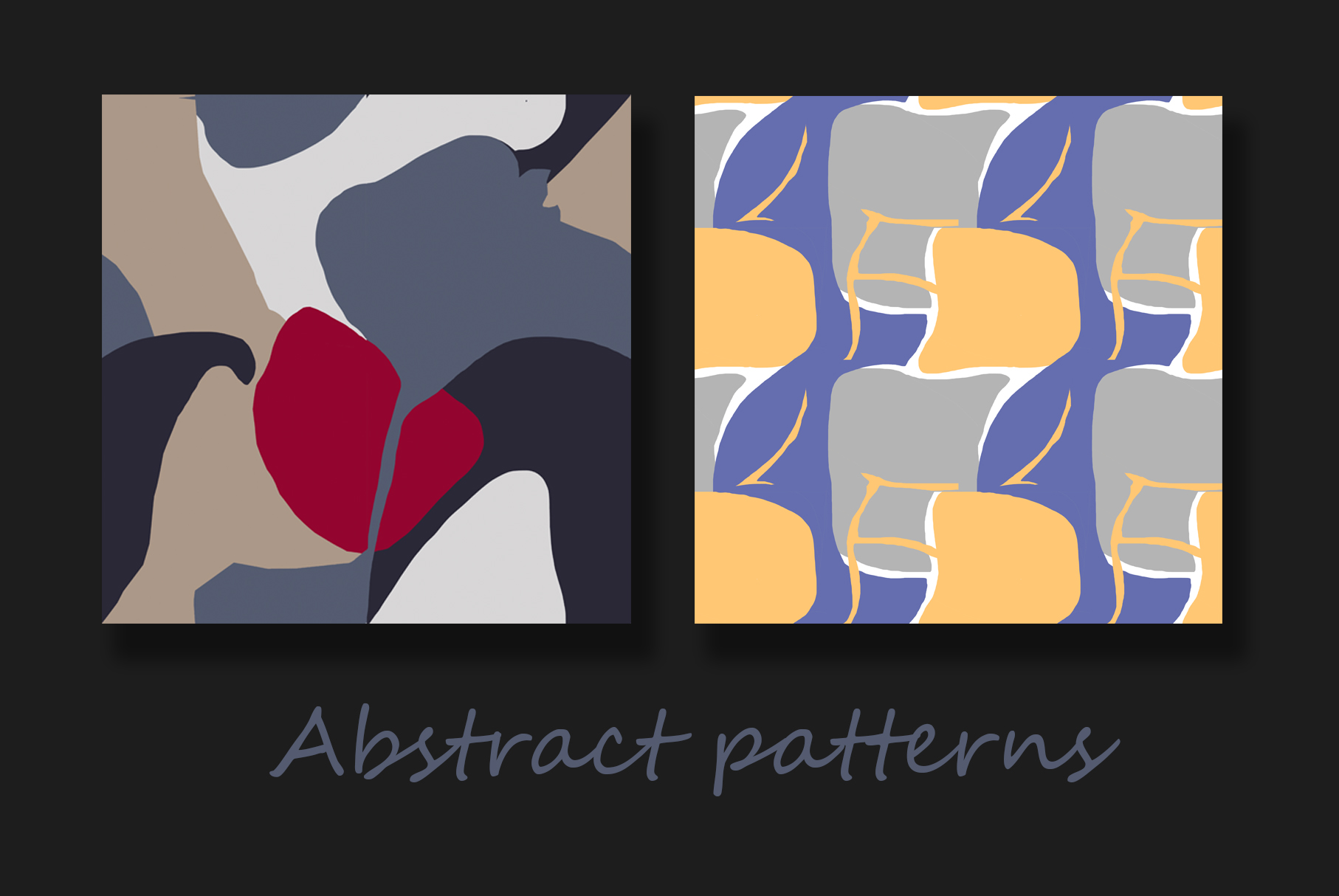 Colorful abstract patterns example image 2