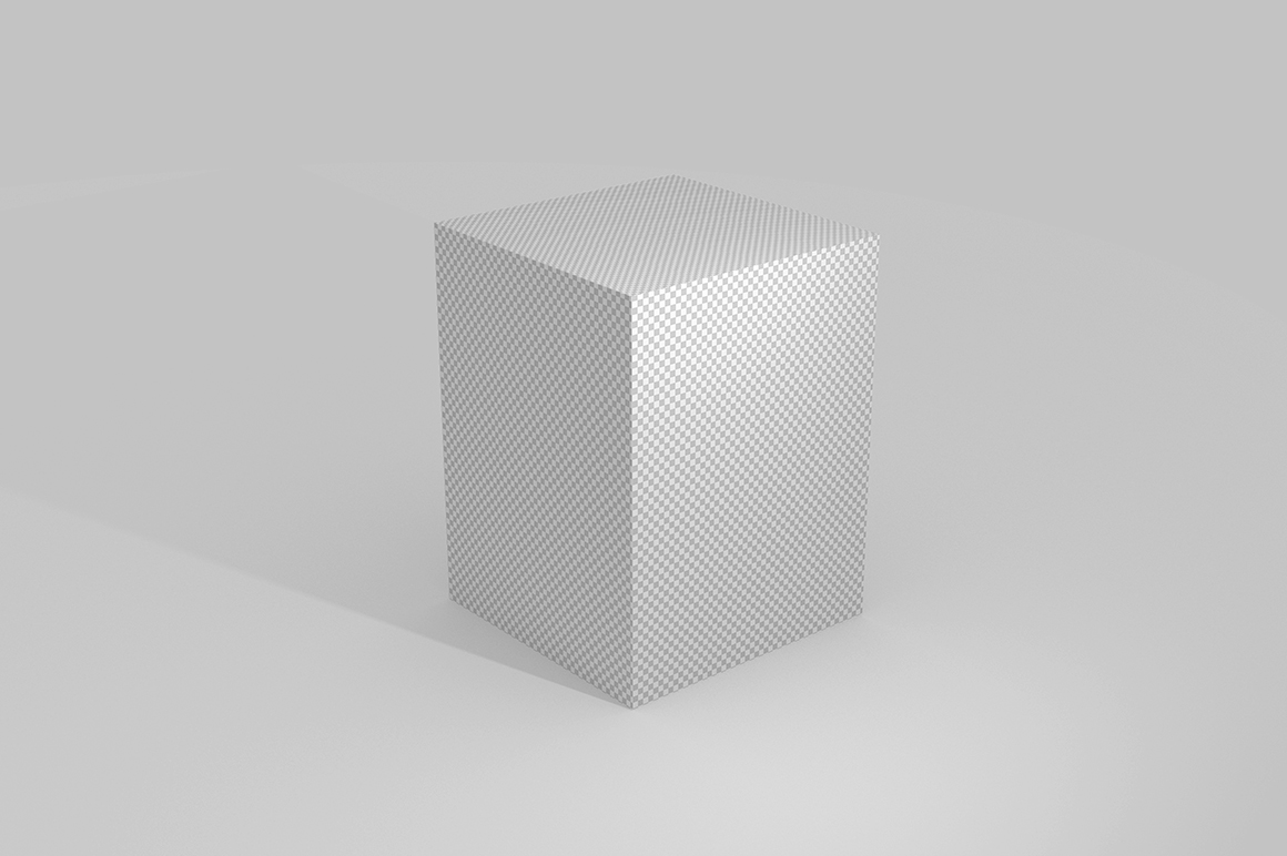 3.4.3 Simple 3D Box Mockup PSD example image 2
