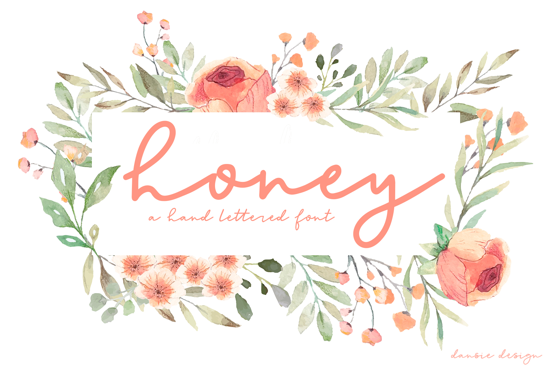 Honey Script Font example image 1