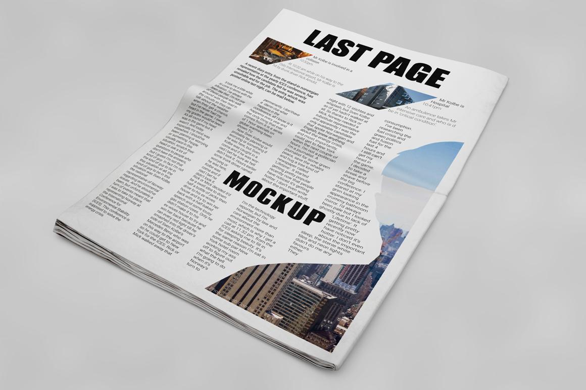 Newspaper Mockup example image 13