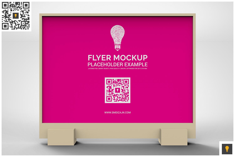 Flyer Display Mockup example image 17