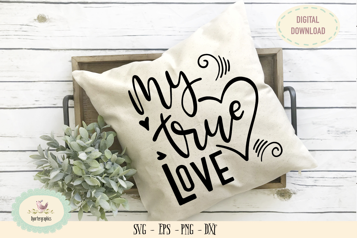 My true love wedding anniversary valentine SVG PNG example image 1