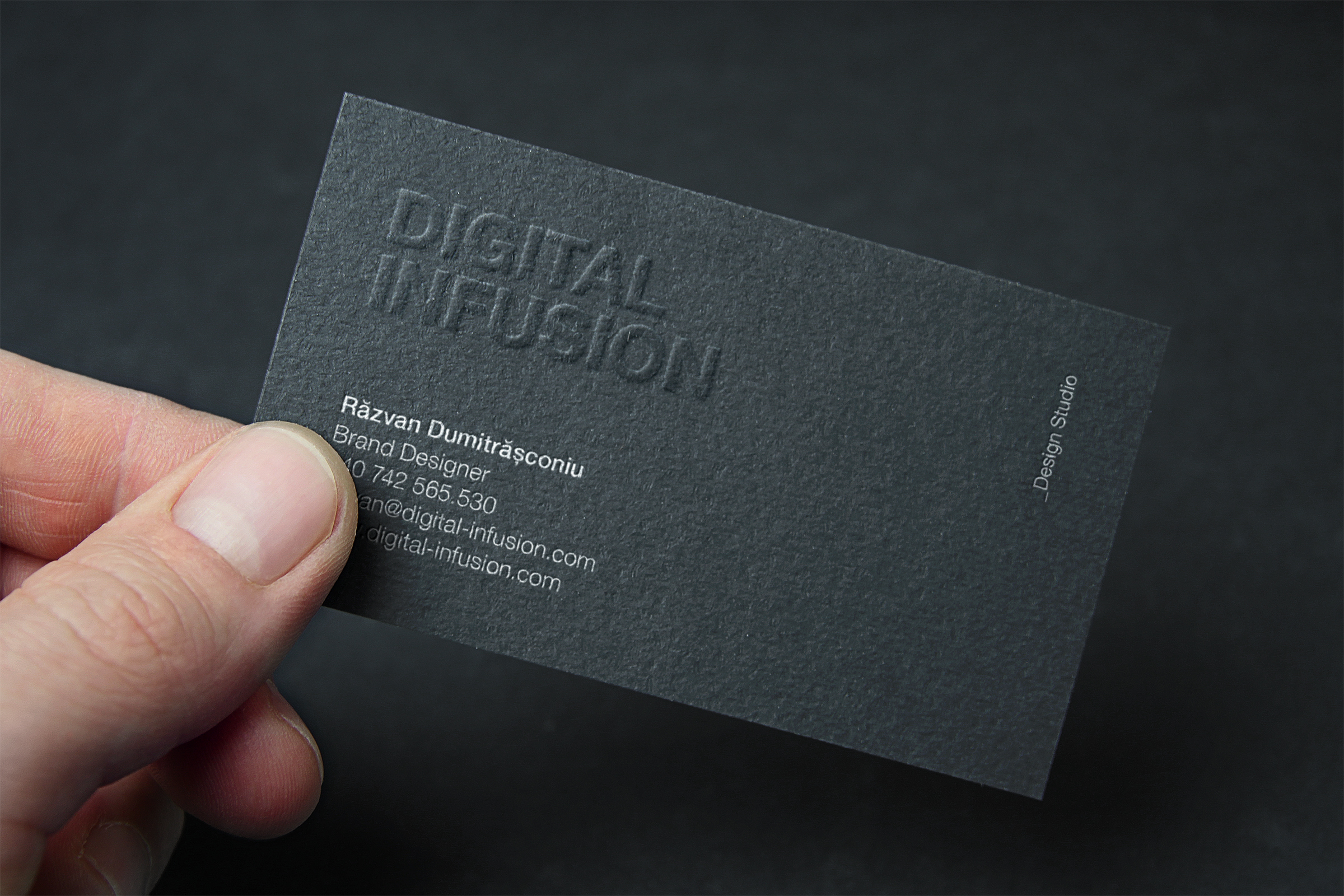 Clean & Modern Business Cards example image 2