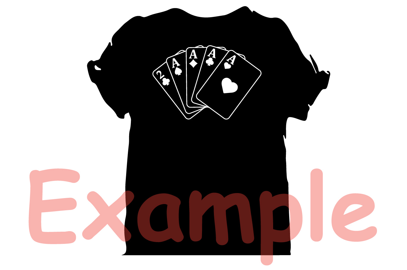 Poker Full House Straight Flush Four of a Kind Straight 742S example image 6