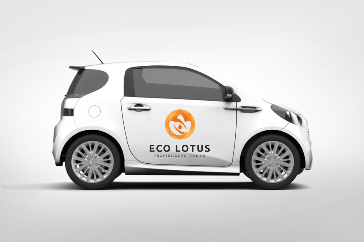 Eco Lotus Logo example image 4