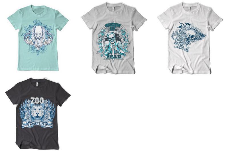 100 T-shirt Designs Vol 2 example image 18