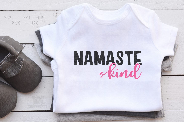 Namaste Kind SVG example image 2