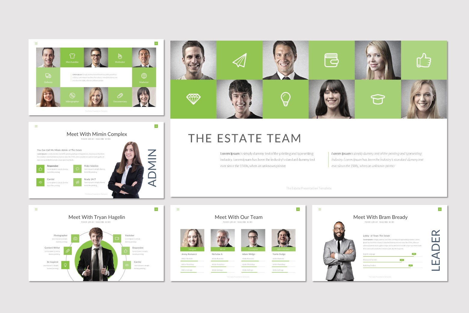 The Estate - Keynote Template example image 3