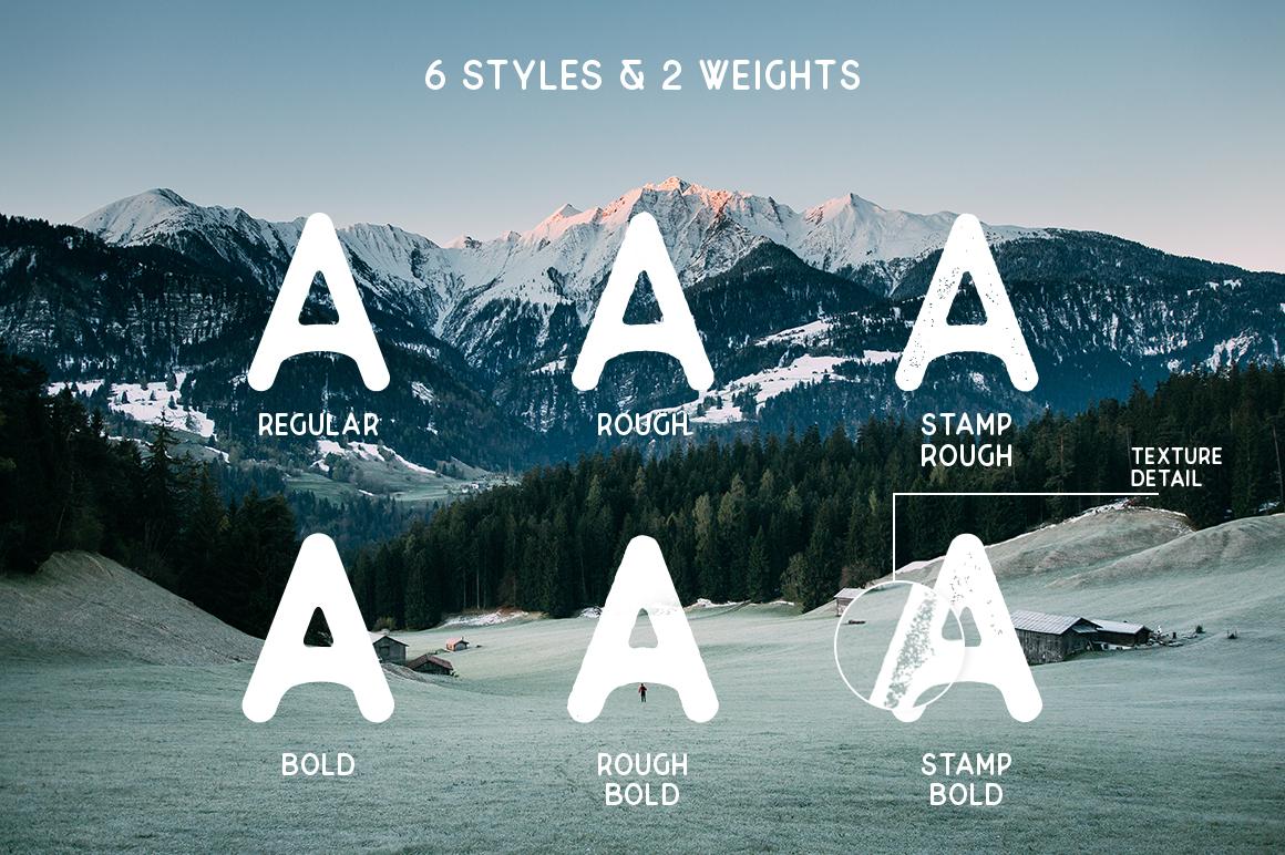 Superior -  Font & Logo Bundle example image 4