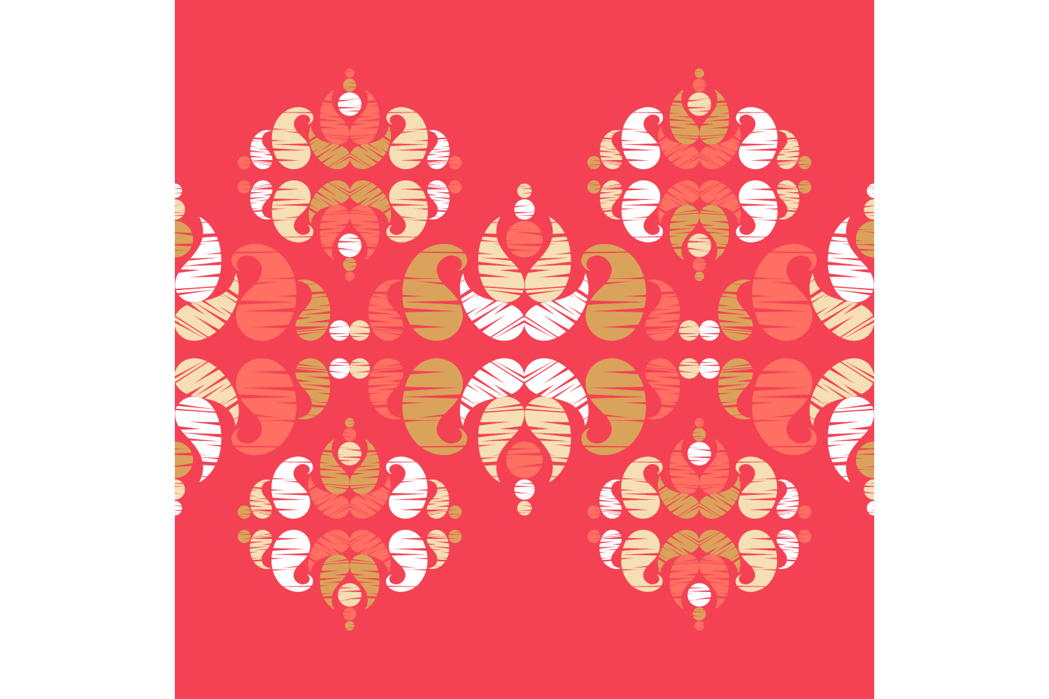 Paisley ornament. Set of 10 seamless patterns. example image 8